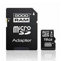 Карта памяти GOODRAM 16Gb microSDHC class 4 (SDU16GHCAGRR10/SDU16GHCAGRR9)