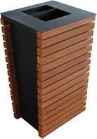 Вулична урна для сміття металева URBAN1, фото 1