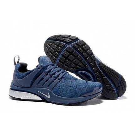 Кроссовки мужские NIKE Air Presto QS текстиль синие, фото 2
