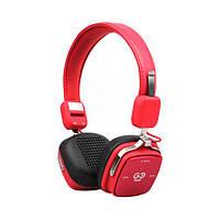 Навушники накладні безпровідні Air music Go Play Red