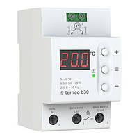 Терморегулятор Тerneo b30 с выносным датчиком для теплого пола, гарантия 36 месяцев