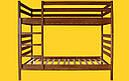 Кровать ТИС Трансформер-1 80*190 сосна, фото 2