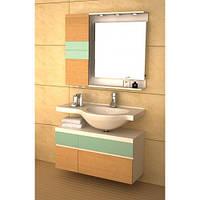 Комплект мебели для ванной комнаты CRW 9102