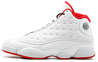 Мужские кроссовки Nike Air Jordan 13 GS History of Flight White Red