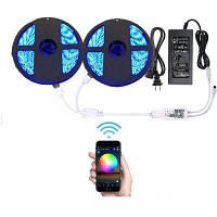 Supli Wifi Умный управляемый водонепроницаемый светодиодный фонарь RGB