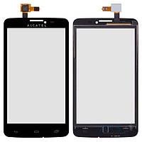 Тачскрин (сенсор) Alcatel One Touch 8000 Scribe Easy | Оригинал | черный