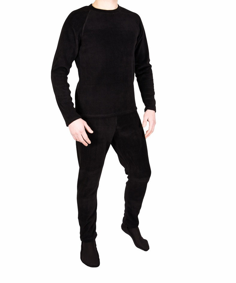 Флисовое термобелье Polar Fleece Level 2 (черный)