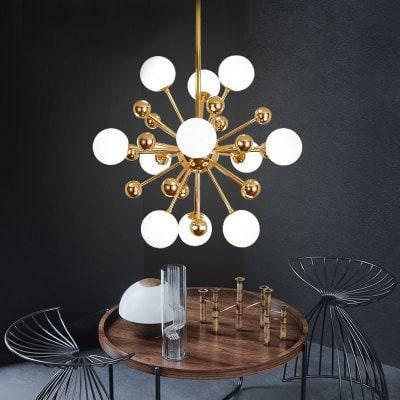 ZGPAX DJBCY041 современный творческий стиль в форме бобового стебеля с 11 головками люстры купить ZD-49197, фото 2