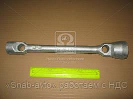 Ключ балонный ГАЗ 53,3307 (22х38) (L=365) (цинк) (производство г.Павлово) (арт. И-312ц), ACHZX