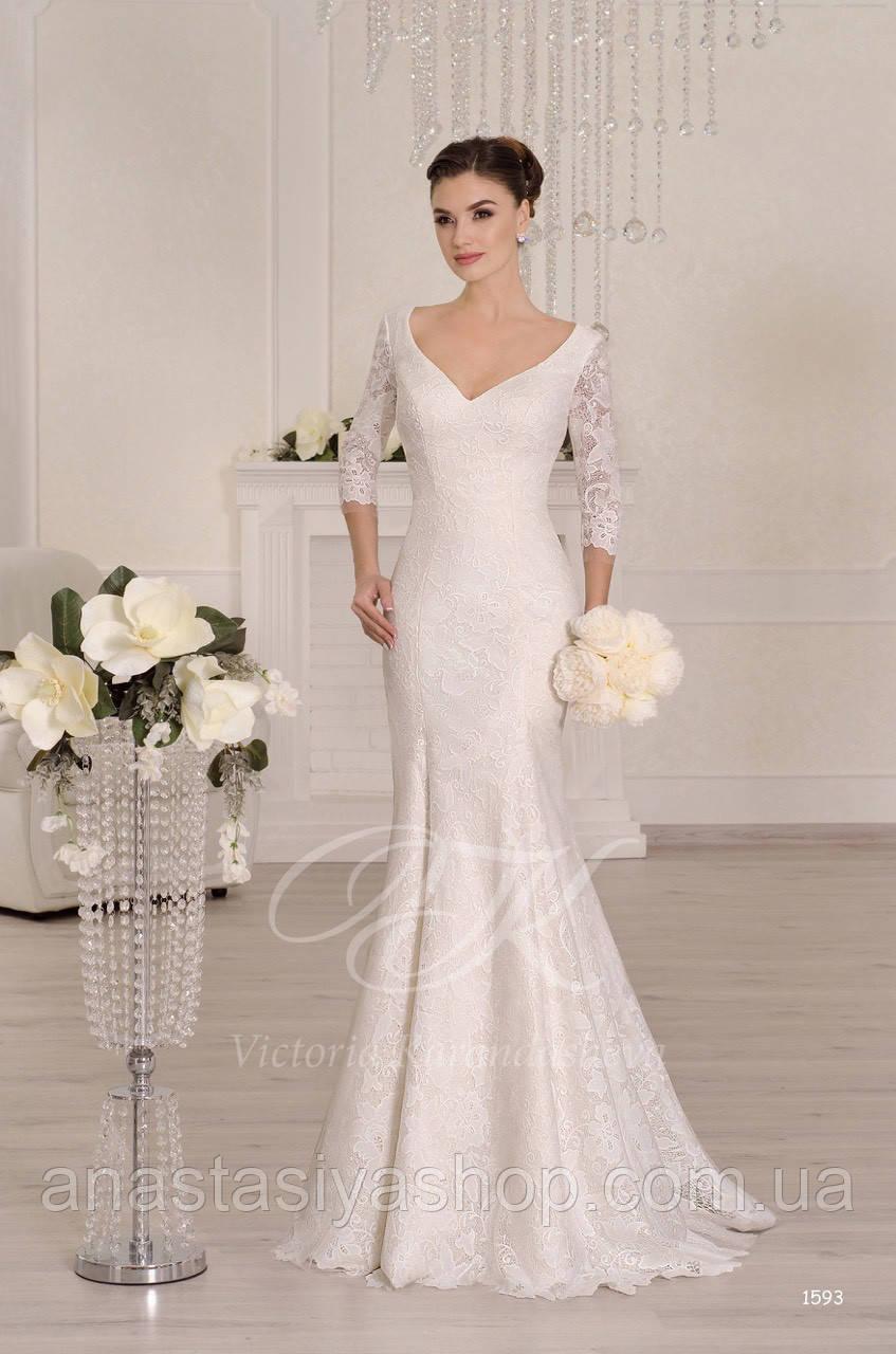Свадебное платье 1593
