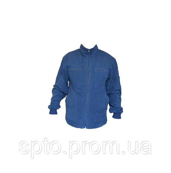 Флисовая пайта, синего цвета