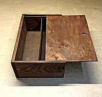 Подарочная коробка 2 ячейки Венге