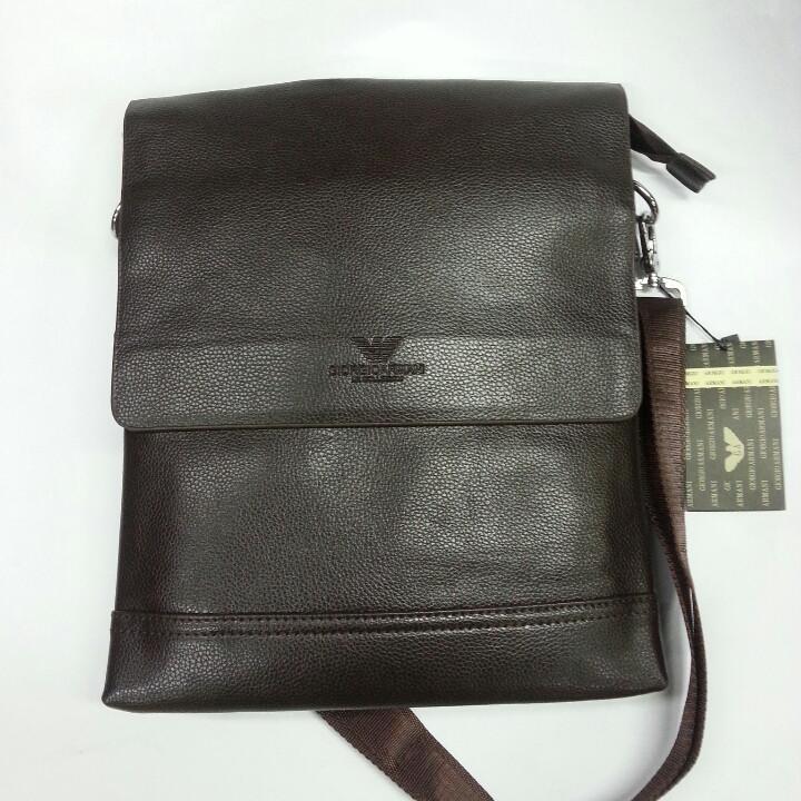 8c62d3c7917d Сумка - планшет мужская Giorgio Armani, 129- 5 коричневая.  продажа ...