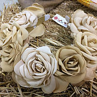 Ободок-веночек «Чайные розы»