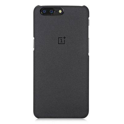 Oneplus 5 Матовый силиконовый чехол для телефона для Oneplus 5 - Чёрный, фото 2