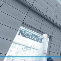 Титан-цинк структурированный лист NedZink NOVA COMPOSITE Голландия лист 4х1000х3200 мм