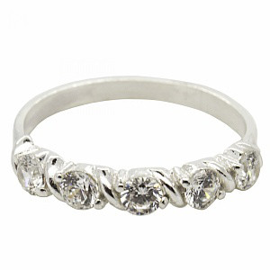 Серебряное кольцо Слава маленький размер