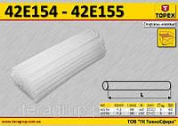 Стержни клеевые прозрачные, Ø-11,2мм., n-167, 5.0кг.,   TOPEX  42E155
