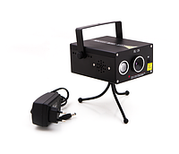 Портативная лазерная установка для дискотек и вечеринок HL-26 С USB