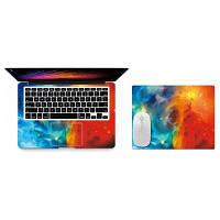 Мягкие наклейки на корпус и крышку для ноутбука Xiaomi Air 12.5 Разноцветный