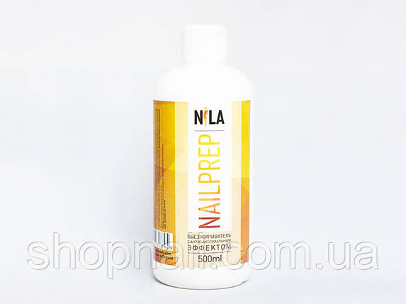 Nila Nail Prep - обезжириватель для ногтей с антибактериальным эффектом, 500 ml, фото 2