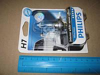Лампа накаливания H7 WhiteVision 12V 55W PX26d (+60) (4300K)  1шт. blister (производство Philips) (арт. 12972WHVB1), ACHZX