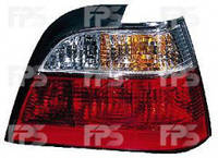 Фонарь задний для Daewoo Nexia '95-08 левый (DEPO) бело-прозр. вставка 222-1904L-U