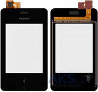 Тачскрин (сенсор) Nokia Asha 500 Dual Sim | Оригинал | черный