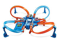 Трек Хот Вилс Hot Wheels Criss Cross Crash Track Set