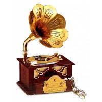 Стиль ретро Граммофон Музыкальная шкатулка украшения дома 1шт 37550
