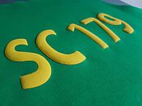 Нанесение логотипа на футбольной форме