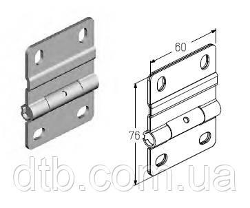 Петля нержавеющая IH114 для ворот Alutech гаражных секционных