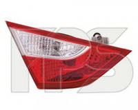 Фонарь задний для Hyundai Sonata '10-15 правый (DEPO) внутренний 924043S000