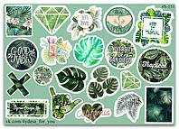 Stickers Pack Tropic Mix #151, фото 1