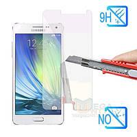 Защитное стекло для экрана Samsung Galaxy A5 (a500) твердость 9H, 2.5D (tempered glass)