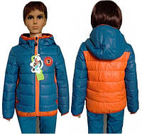 Куртка на 3-7 лет