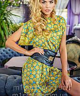 Летнее платье с поясом (Trend sk)