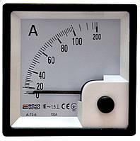 АС Амперметр прямого включения 100А Модель А-72-6