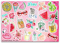 Stickers Pack Watercolor #152, фото 1