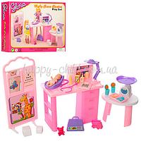 Мебель для куклы Кабинет доктора 9817 (48шт) кабинет доктора, пупс, аксессуары, в кор-ке, 26-21-6см