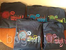 Нанесение логотипа на рабочих костюмах
