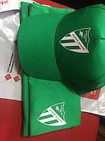 Нанесение логотипа на кепках и футболках