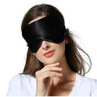 Мягкая шелковая повязка на глаза для сна 1 шт