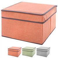 """Ящик ПВХ для хранения вещей """"Элит"""" R15771, 25*20*17 см, Ящик для хранения, Хранение вещей"""