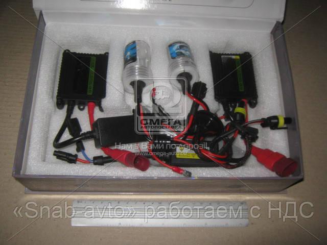 Ксенон HID H3 35W 12v 6000К DC комплект(2 hid+2 блока) (арт. HID 6000К DC 35W 12v), ADHZX