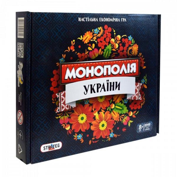 Настольная игра Strateg Монополия Украины LUX