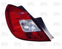 Фонарь задний для Opel Corsa D '06-14 правый (DEPO) 5-дверный