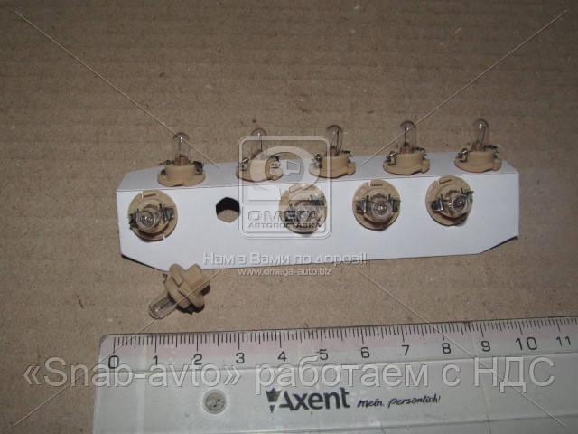 Лампа накаливания BAX 1,8W 12V BX8,4d BEIGE (производство Narva) (арт. 17060CP)