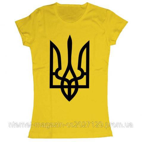 Футболка жіноча Тризуб - Українське.com.ua в Днепре 1be8a6845ddd1