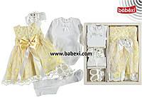 Комплект для крещения на девочку